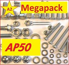 Suzuki AP50 1970's era Moped - Nut / Bolt / Screw Stainless MegaPack