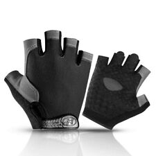 Breathable Cycling Gloves Sports Fitness Fishing Half Finger Gloves Non-slip