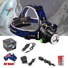 12000LM LED Headlamp Rechargeable Headlight CREE XM-L T6 Head Torch light lamp