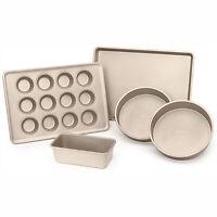OXO Good Grips Non Stick Pro 5 Piece Aluminized Steel Kitchen Baking Pan Set