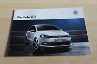129878) VW Polo 6R GTi Prospekt 10/2012