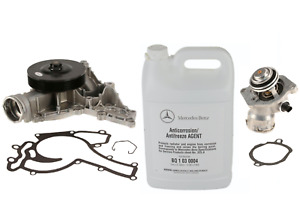 Water Pump + Thermostat Assembly + Coolant Kit OEM GRAF WAHLER for Mercedes