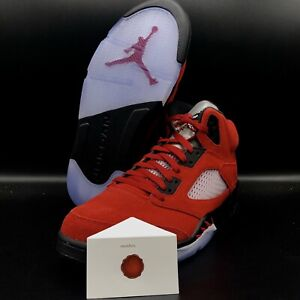 AIR JORDAN 5 RETRO RAGING BULL TORO BRAVO (2021)  DD0587-600 SHIP NOW