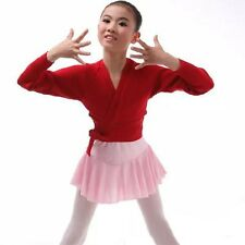 Chaquetas de Punto para Vestido Ballet Danza Gym Otoño Bolero Infantil para Niña