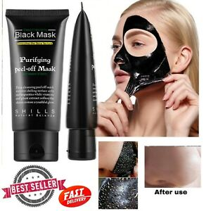 Blackhead Remove Deep CleansingPurifying Black FacialMask PeelOff BambooCharcoal
