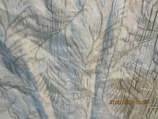 """Pair Of Green Leaf Design Curtains-48"""" Wide X 34"""" Long-#B57A"""
