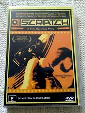 SCRATCH - DOUG PRAY, DVD, REGION-4, LIKE NEW, FREE POST IN AUSTRALIA