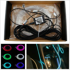 6M Multi-Color LED Car Truck EL Light Strip Wire Cold Lamp Bluetooth APP Control