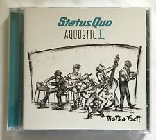 Status Quo - Aquostic II – That's A Fact CD Universal Recs