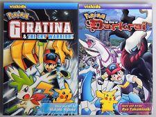 ESZ1385. MANGA Pokemon Giratina & The Sky Warrior + The Raise of Darkrai (2009)_