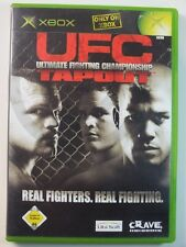 XBOX CLASSIC GIOCO UFC Tapout, usato ma BENE