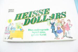 Parker Brettspiel HEISSE DOLLARS, aufregendes Spiel ums Geld, Top erhalten OVP