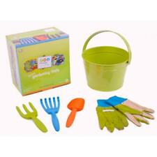 NEW Twigz My First Gardening Tools – Green - With Bucket, Tools & Gloves