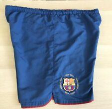 Nike FC BARCELONA Men's Medium Camp NOU 50th Anniversary Shorts RARE Soccer
