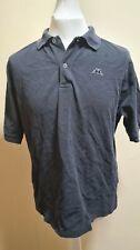 Vintage Men's Robe Di Kappa Cotton Polo T-shirt Black Size XL