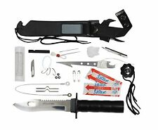 Deluxe 'Adventurer' Survival Kit Knife (Accessories Included)