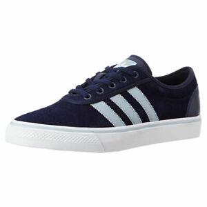 Adidas originals Adi Ease Mens Dark Blue Skateboarding Shoes UK 7.5
