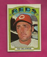 1972 TOPPS # 614 REDS TED UHLAENDER NRMT CARD (INV# A4920)