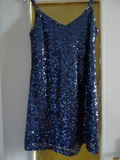 Robe bleu  à paillettes BaileyBlue Taille  :M