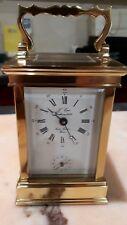 pendule de voyage L'Epée, ufficialina, sveglia lusso,  N.O.S. luxury alarm clock