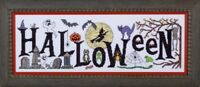 GLENDON PLACE Cross Stitch Pattern Chart BOO FROM THE CREW Halloween