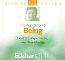 The Realization of Being by Eckhart Tolle (2001, CD, Unabridged) SoundsTrue