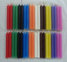Mini Chime Spell Candles: 2 sets of 20 = 40 Candles (Wicca Altar) Set #2