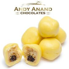 Andy Anand Belgian Chocolate Lemon Blueberry Shortbread Malt Ball Free Shipping
