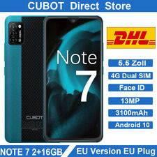 CUBOT NOTE 7 Smartphone 5,5 Zoll 4G Handy Dual SIM Face ID 13MP Android 3100mAh