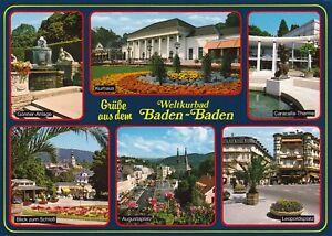 Weltbad Baden-Baden  ,Ansichtskarte