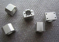 2Pcs SFU1605 Nut Housing Nut Bracket for SFU1605 Ballscrew Ballnut For CNC