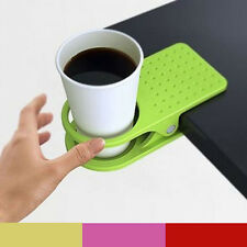 Office Home Desk Table Multifuction Clip Drink Coffee Cup Cans Mug Holder Folder