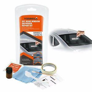 New 1x DIY Rear Window Defogger Repair Kit VISBELLA to Repair Grid Lines & Tabs