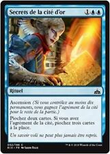 MTG Magic RIX - (x4) Secrets of the Golden City/Secrets de cité d'or, French/VF