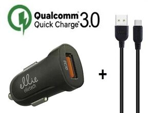 ✅ Mini Car Charger Quick 18W Charger Samsung S9 S10 S20 USB IPHONE