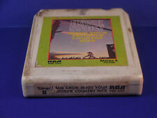 Hank Snow 8 Track Tape RCA Hank Snow Sings Your Favorite Country Hits