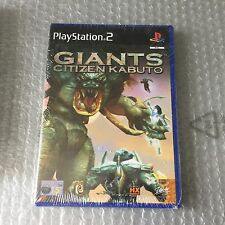 VINTAGE# PS2 PLAYSTATION  GIANT CITIZEN KABUTO # PAL SEALED SIGILLATO