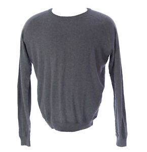 ETIQUETA NEGRA Men's Light Gray Melange Crewneck Sweater ENHS10 Size XL NEW