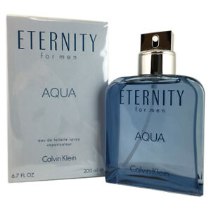 CK Eternity Aqua for Men By Calvin Klein 6.7 OZ Eau de Toilette Spray
