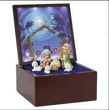 Precious Moments Christmas Heirloom Nativity Musical 7pcs Set New 2016 161106
