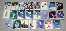 (24) Canadian Olympic Team 1992 Winter Olympic Signed Freestyle Skiing Cards