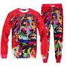 New Women Men Hip hop Tupac 3D Print Sport jogger pants Hoodies sweatshirt Set