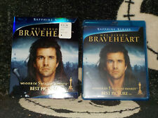 Braveheart New Sealed Saphire Series Blu Ray +Slipcover Free Shipping