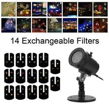 Christmas All Holiday Lights Outdoors Mini Projector Waterproof LED Decoration