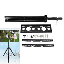 """Portable Tripod Tv Stand Television Lcd Flat Panel Monitor Mount 34"""" to 50"""" Best"""