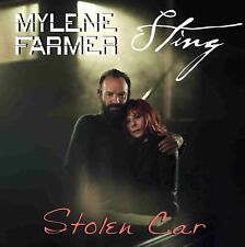 "MYLENE FARMER / STING STOLEN CAR LIMITED 12"" SINGLE"