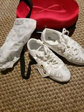 Nfinity Nf-Adult Evolution Cheer Shoes White Size 9.5 New