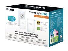 NEW SEALED--D-Link DHP-601AV PowerLine AV2 1000 Gigabit Start Kit