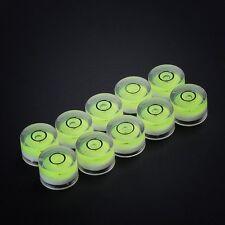 10x Dosenlibelle Ø 15 x 8mm Wasserwaage Libelle Präzisions Waage Durchmesser