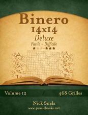 Binero: Binero 14x14 Deluxe - Facile à Difficile - Volume 12 - 468 Grilles by...